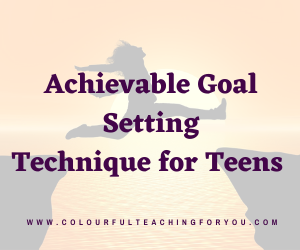 How to Help High School Students Set and Track Achievable Goals
