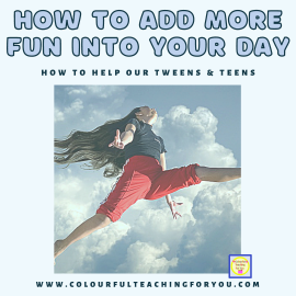 How To Add More Fun Into Your Day