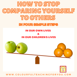 How to Stop Comparing Yourself to Others in Four Simple Steps
